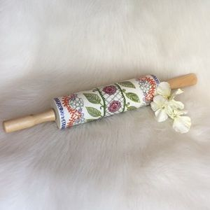 🆕Anthropologie Blossom and Vine Rolling Pin